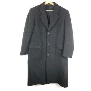 Vintage DI SILVER coat 38R cashmere blend o1007